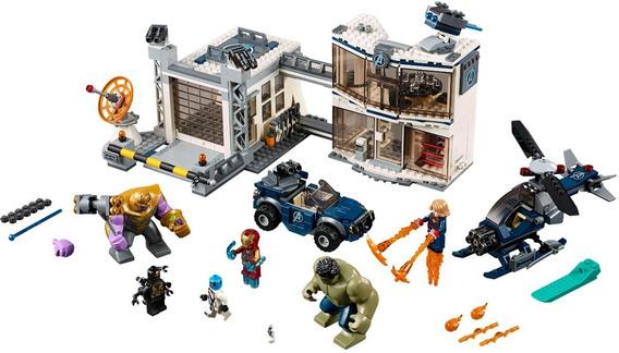 Lego Marvel Endgame Batalla En El Complejo De Los Vengadores