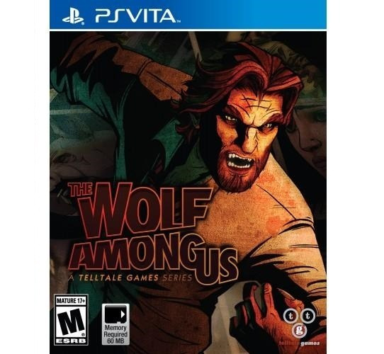 Jogo Sony Psvita The Wolf Among Us Telltale Games Lacrado