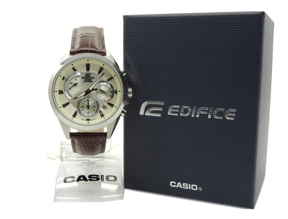Relógio Casio Edifice Efv-580l-7avudf - Cronógrafo Nfe/gar