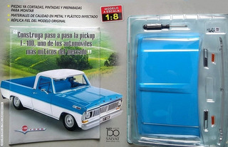 Coleccionable Pickup Ford F-100 - Pieza No. 1 - Escala 1:8