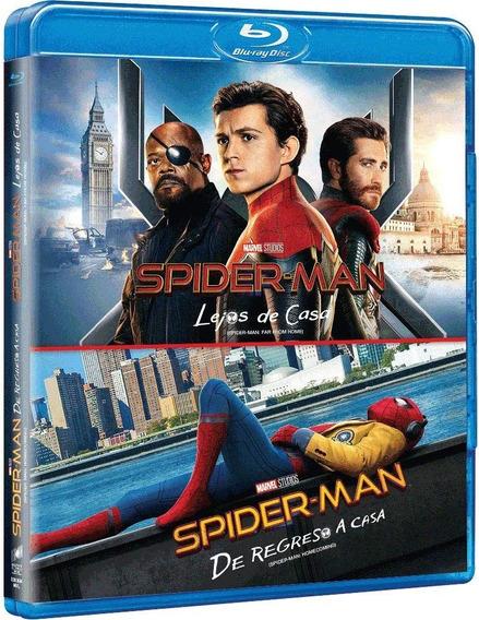 Spider-man Lejos De Casa + De Regreso A Casa Boxset Blu-ray