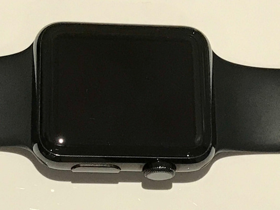 Apple Watch 42mm Stainless Steel Space Black - Pouco Uso