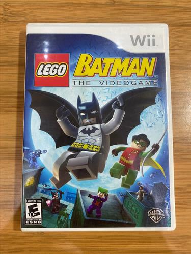 Jogo Lego Batman The Videogame - Nintendo Wii