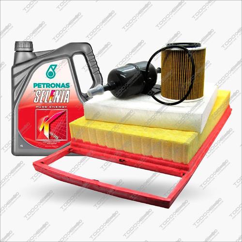 Kit 4 Filtros + Aceite Selenia Fiat Palio 326 1.6