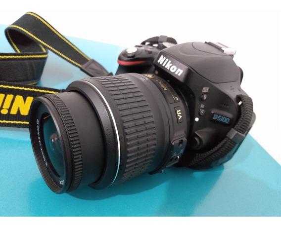 Câmera Nikon D5100 18-55 Vr Kit Af-s Dx Nikkor F/3.5-5.6g Vr