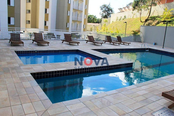 Apartamento Com 2 Dormitórios Para Venda E Locação, 52 M² Condomínio Marselha - Parque Nova Jandira - Jandira/sp - Ap0231 - Ap0231