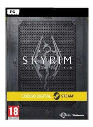 The Elder Scrolls V: Skyrim Legendary Steam Key Envio Rápido