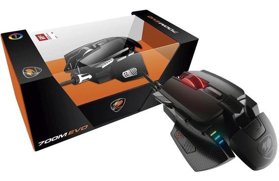 Mouse Gamer Cougar Rgb, 8 Botões, 16000dpi - 700m Evo.