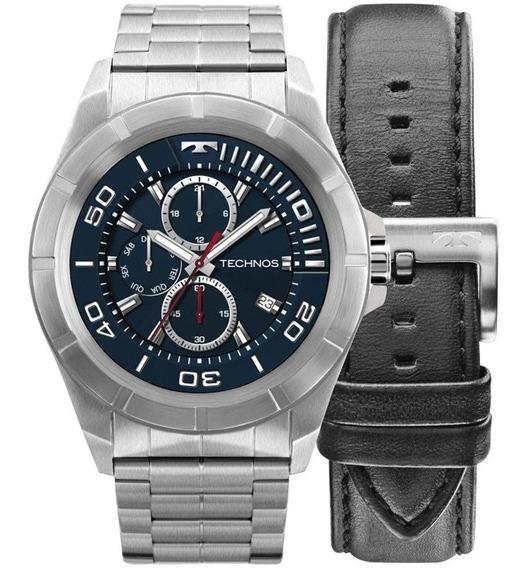 Relógio Smartwatch Technos Connect Prata Kit Sraa/1p