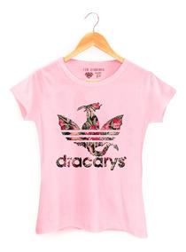 Camiseta Dracarys Got Game Of Thrones Team Dracarys Floral