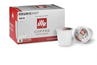 Illy Coffee Medium Roast Kcup Para Keurig 100% Arabica Bean