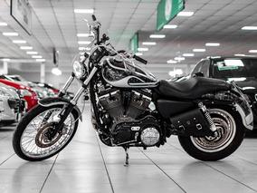 Harley Davidson Xl 883 Custom Ano 2007 Aceito Moto Na Troca