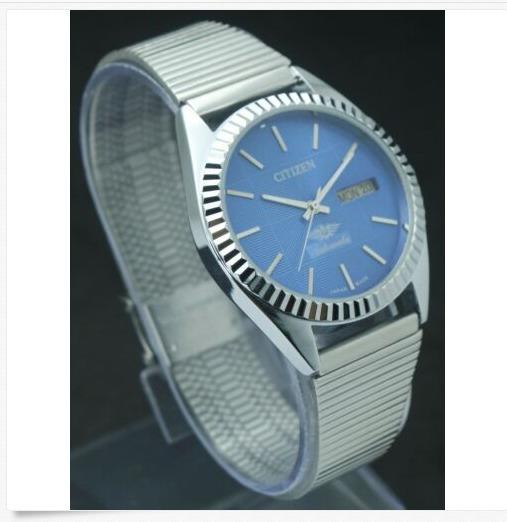 Relógio Citizen Automático 2591 Pulseira Em Aço Regulável