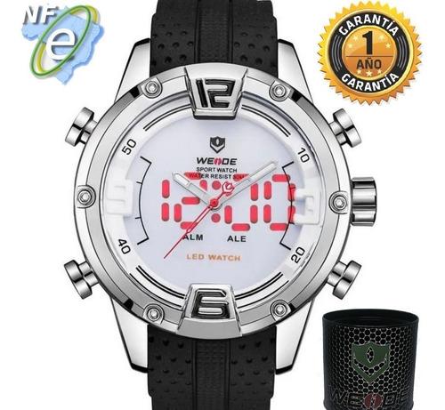 Relógio Masculino Esportivo Analógico Digital Original Preto