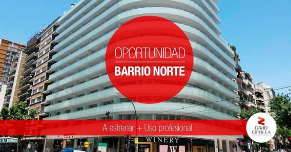 Barrio Norte I Av. Santa Fe 2900. Departamento/oficina Apto Profesional Con Amenities.