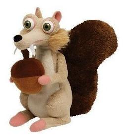 A Era Do Gelo Pelúcia Esquilo Scrat 18cms *fabricado Por Ty!