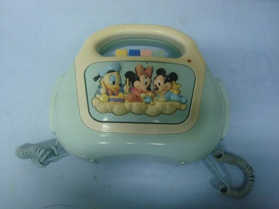 Brinquedo Toca Fitas K7 Disney - La Say - Ver Obs