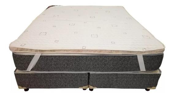 Pillow Top Desmontable Arcoiris 80x190 (no Es Un Colchón)