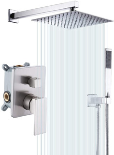 Regadera Kes Pressure Balancing Rain Shower System 3