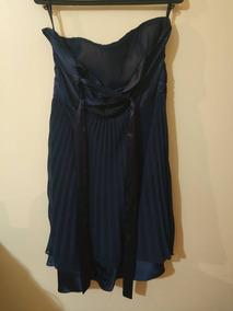 Roupa Vestido Azul Marinho Curto Festa Madrinha