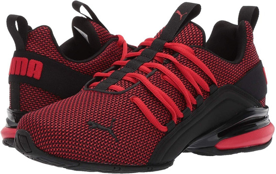 Puma Axelion Nm Jr High Risk Red-puma Black 192728 02