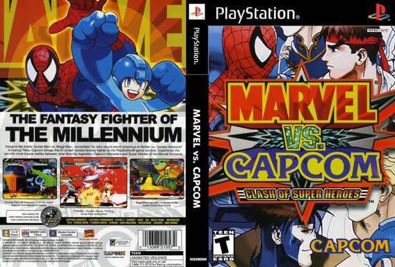Marvel Vs Capcom Para Playstation 1 - Patch