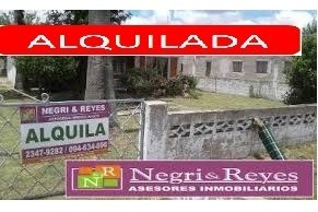 *** Reservada*** Casa  Al Fondo En Alquiler En Playa Pascual