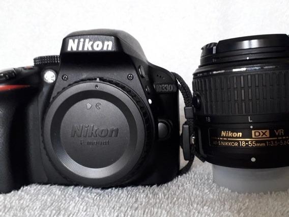 Corpo Nikon D3300 24.2 Megapixels - Menos De 9k Clicks