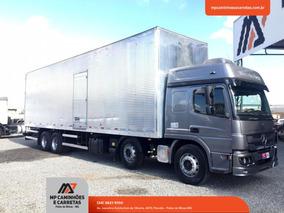 Caminhão Mb Atego 3030 Bitruck Bau Estado De Zero!