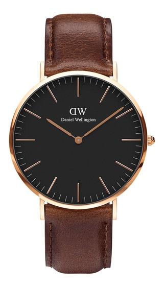 Relógio De Pulso Daniel Wellington Classic Bristol 36mm