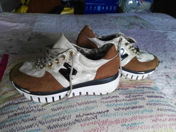 Zapatillas Niña Con Plataforma