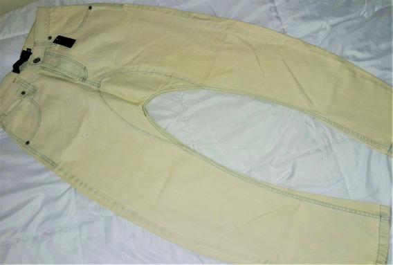 Babucha Hombre Pantalon Jean Elastizado Gabardina Chupin