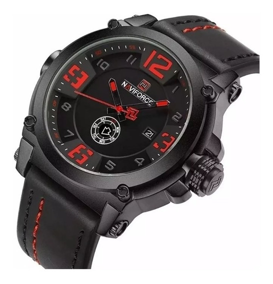 Relógio Masculino Militar Esportivo Naviforce 9099 Promoção