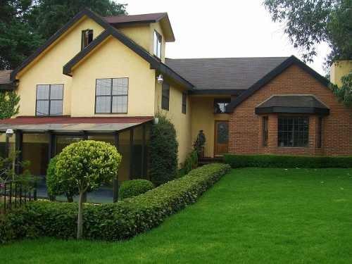 Casa En Venta En Col. San Mateo Tlaltenango, Del. Cuajimalpa, Cdmx