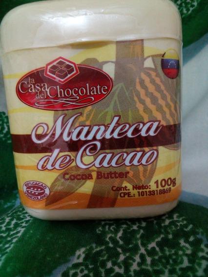Manteca De Cacao 100% Pura - No Artesanal