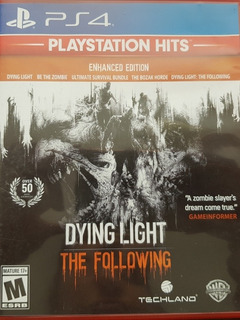 Dying Light The Following Enhanced Edition Ps4 Fisico