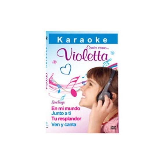 Karaoke Canta Como Violetta Dvd Nuevo