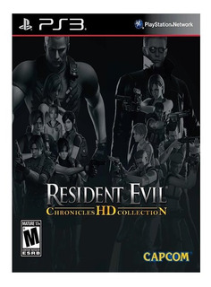 Resident Evil Chronicles Hd Collection Ps3