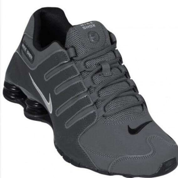 Tênis Nike Shox Nz Chumbo Original Tam.45/46/ 47/ 48