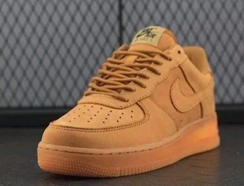 Tênis Nike Air Force Marrom Masculino Original Lançamento Garanta Ja O Seu
