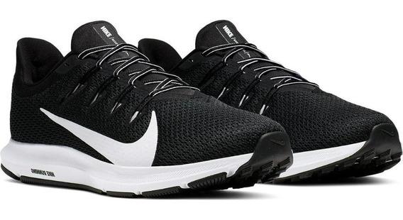 Tênis Running Nike Masculino Quest 2 Ci3787 Preto/branco
