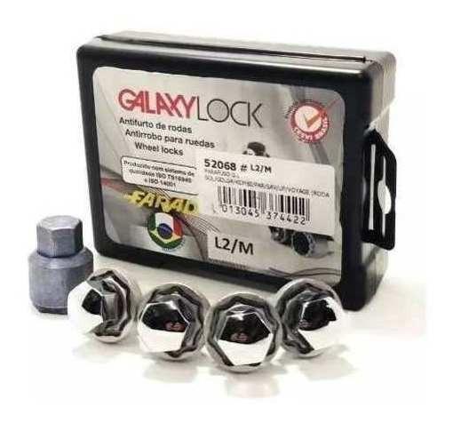 Parafuso De Roda Antifurto Galaxy Lock Kit Citroen C4 Hatch