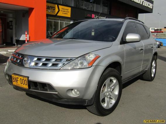 Nissan Murano Sl 4wd