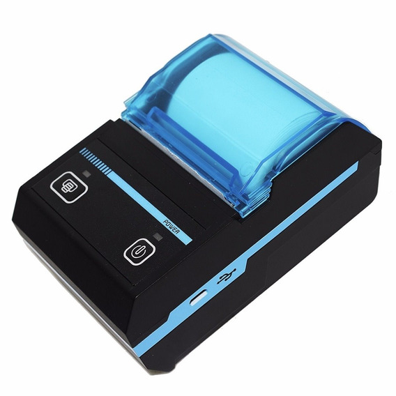 Mini Impressora Portatil Bluetooth Termica 48mm Android Ios