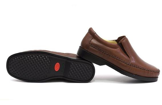 Sapato Masculino Casual Dockiside Couro Legitimo Luxo .