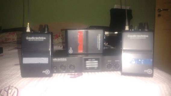 Monitor In Ear Audio-technica M2 + 3 Receptores (promoção)