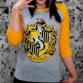 Camiseta Feminina Raglan Lufa Lufa Harry Potter