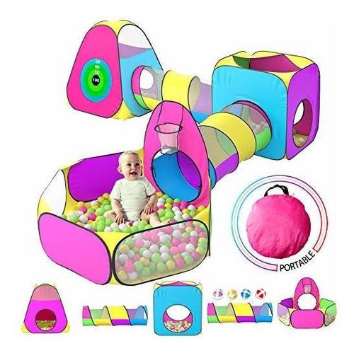 Tienda De Campaña Infantil Para Niños Con 1 Bola De Bebé, 2