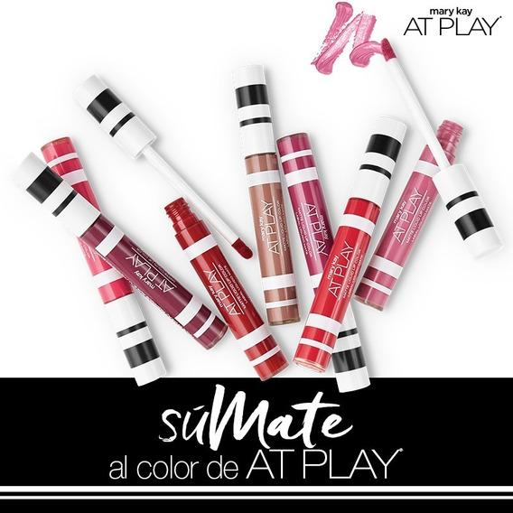 Labial Líquido Mate Mary Kay At Play Color A Eleccion 25 % Descuento Hago Envios