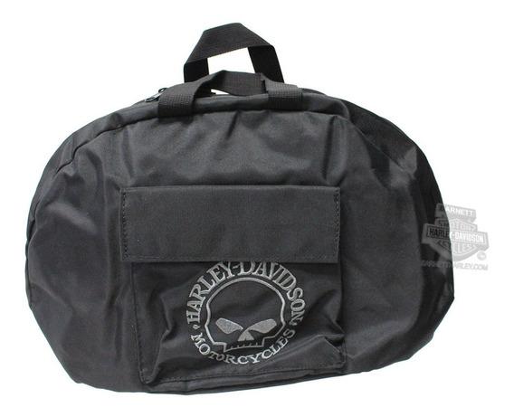 Bolsa Meio Capacete Skull Harley Davidson 99427